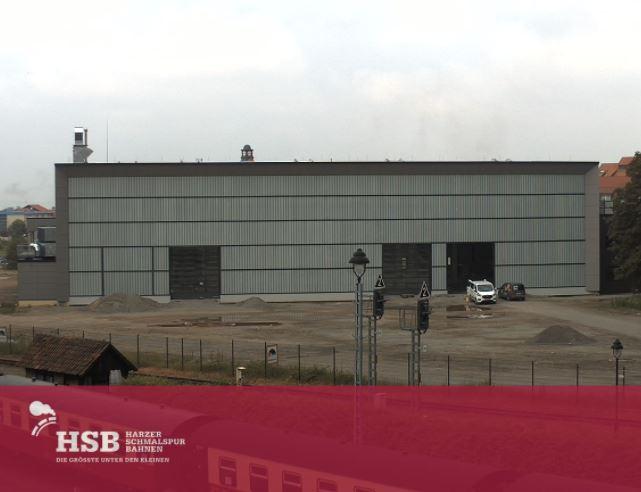Neubau Dampflokwerkstatt