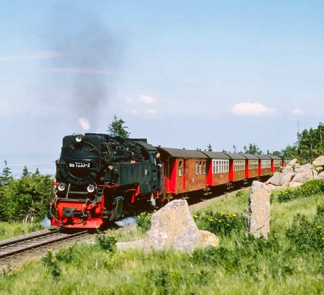 Wernigerode, Brocken und Nationalpark Harz