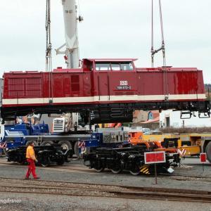 Diesellok 199 872 der HSB ist seit heute nach erfolgter Untersuchung wieder zurück im Harz (Foto: HSB/ Heide Baumgärtner)