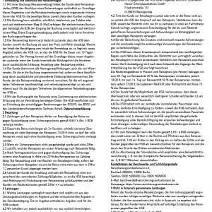 Reiserichtlinien der HSB