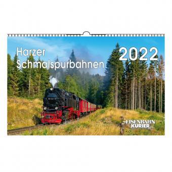 EK - Kalender Harzer Schmalspurbahnen 2022
