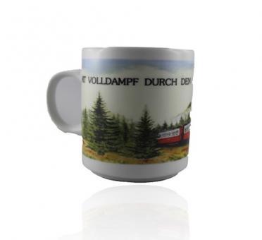 """Tasse  """"Mit Volldampf durch den Harz"""""""
