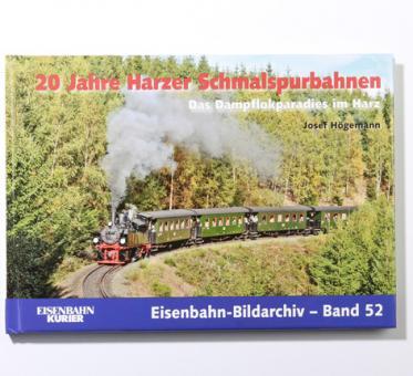 """Buch """"20 Jahre Harzer Schmalspurbahnen"""""""