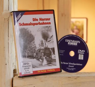 DVD Die Harzer Schmalspurbahnen damals