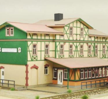 "Bausatz Bahnhof ""Eisfelder Talmühle"""