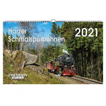EK - Kalender Harzer Schmalspurbahnen 2021