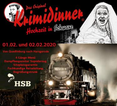 Krimi-Dinner am 01.02.2020
