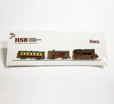 Pin-Set Lok und Wagen