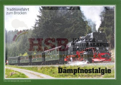 Kombi-Paket Dampfnostalgie HSB