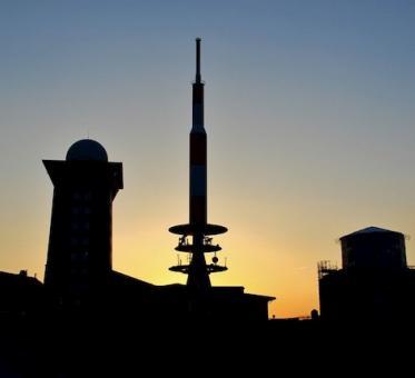 Sonnenuntergangszug am 19.06.2021