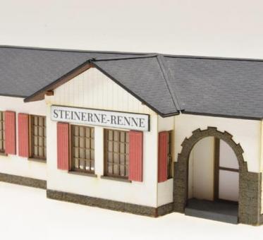 """Bausatz Bahnhof """"Steinerne Renne"""""""